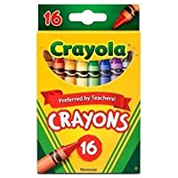 Crayola (クレオラ) クレヨン 16色 [並行輸入品]