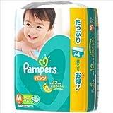 P&G パンパース さらさらケアパンツ ウルトラジャンボ M 74枚【3個セット(ケース販売)】