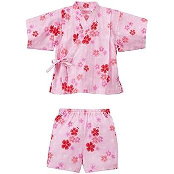 804356b0fb208 ミキハウス ホットビスケッツ (MIKIHOUSE HOT BISCUITS) 甚平スーツ 72-7504-456 80cm ピンク