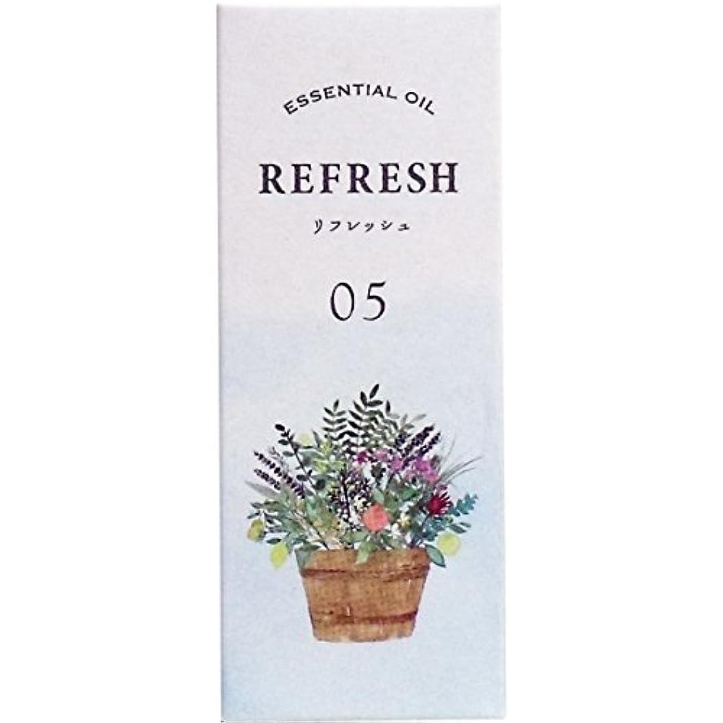 研磨剤薬を飲む木曜日生活の木 ブレンドエッセンシャルオイル リフレッシュ(5ml)
