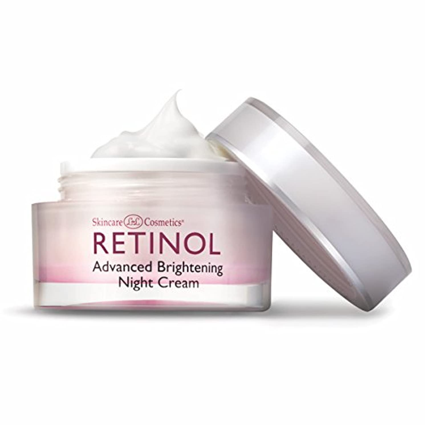 昆虫を見る適合する咲くSkincare Cosmetics - Retinol Advanced Brightening Night Cream - 1.7oz / 48g
