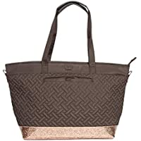 Lug Women's Avion Carry-All Bag, Chocolate/Bronze Travel Tote, One Size