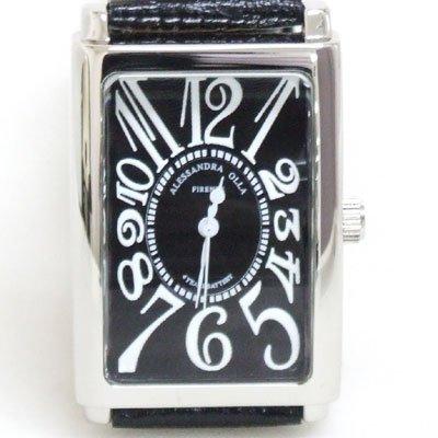 Alessadora Olla (アレサンドラオーラ) 腕時計 メンズウォッチ AO-4500-S/BK/BK