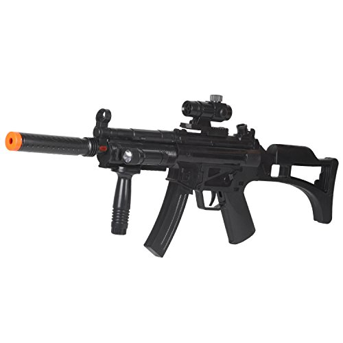 光線銃 MP5-スペシャルフォース 赤外線 音 対戦型 ガン 男の子 リアル...