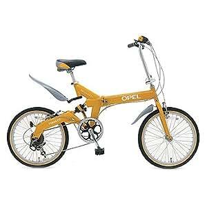 OPEL(オペル) 20インチ折畳自転車 FDB206 R-sus-OT イエロー FDB206 R-sus-OT