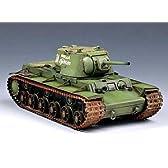トランペッター 1/35 ソビエト軍 KV-1重戦車 1942 重装甲砲塔
