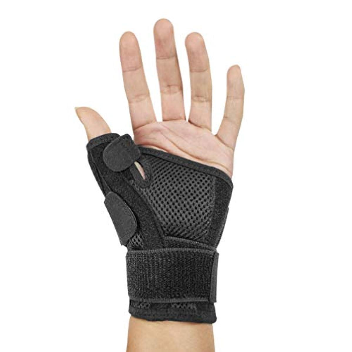 フォーマット縫う秘書Healifty 手首用サポーター 手首固定 調節可能 スポーツ 手首サポート 女性 男性