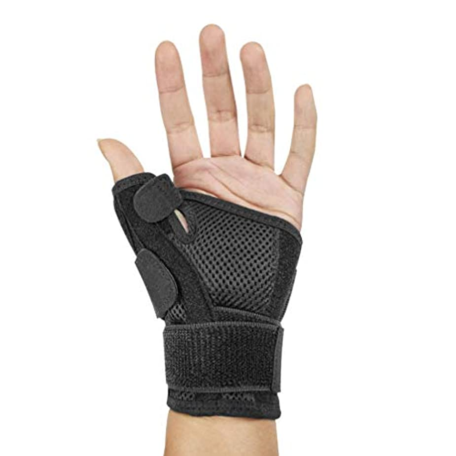 恐怖症夜間極端なHealifty 手首用サポーター 手首固定 調節可能 スポーツ 手首サポート 女性 男性