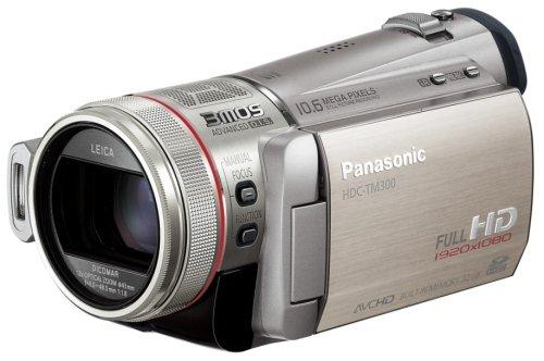 Panasonic デジタルハイビジョンビデオカメラ シルバー HDC-TM300-S