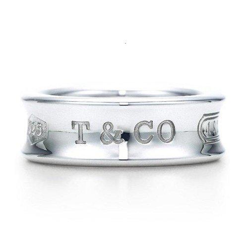 TIFFANY&Co. ティファニー リング 1837 リング 18号 並行輸入品 (品番:42)