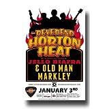 Reverend Horton Heatポスター–Concert Promo Psychobilly