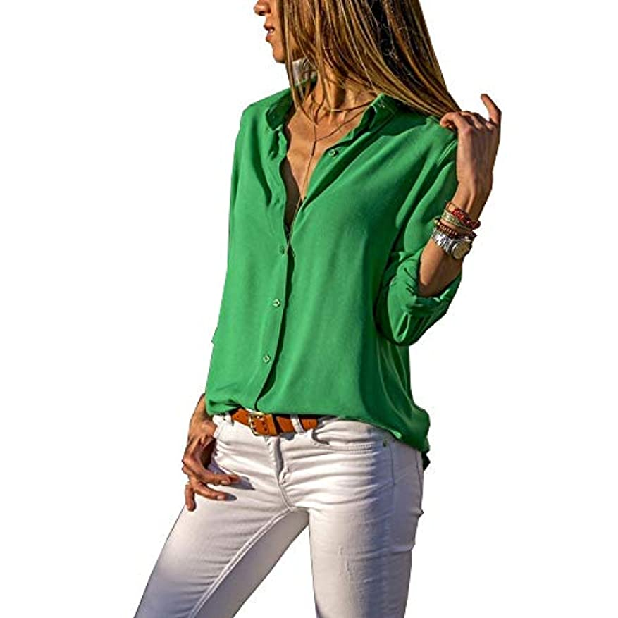 退屈予言する車両MIFAN ルーズシャツ、トップス&Tシャツ、プラスサイズ、トップス&ブラウス、シフォンブラウス、女性トップス、シフォンシャツ