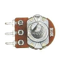 R-STYLE 回路の調整部分に 小型ボリューム(可変抵抗器) 20個セット (B 10KΩ)
