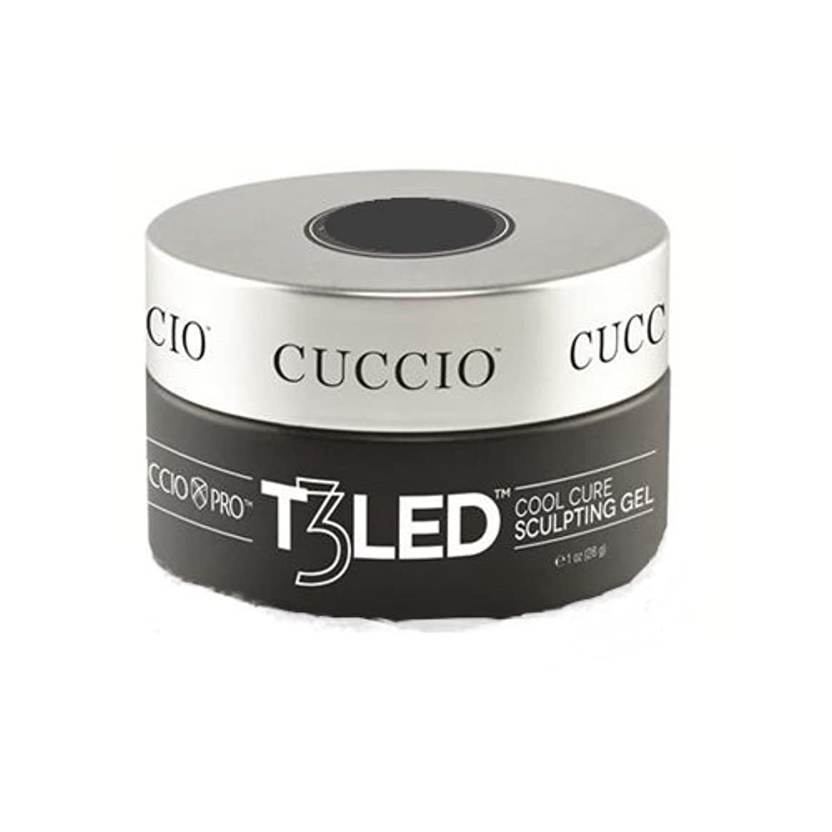 息を切らしてパステル欺くCuccio Pro - T3 LED/UV Self- Leveling Gel - Pink - 2oz / 56g