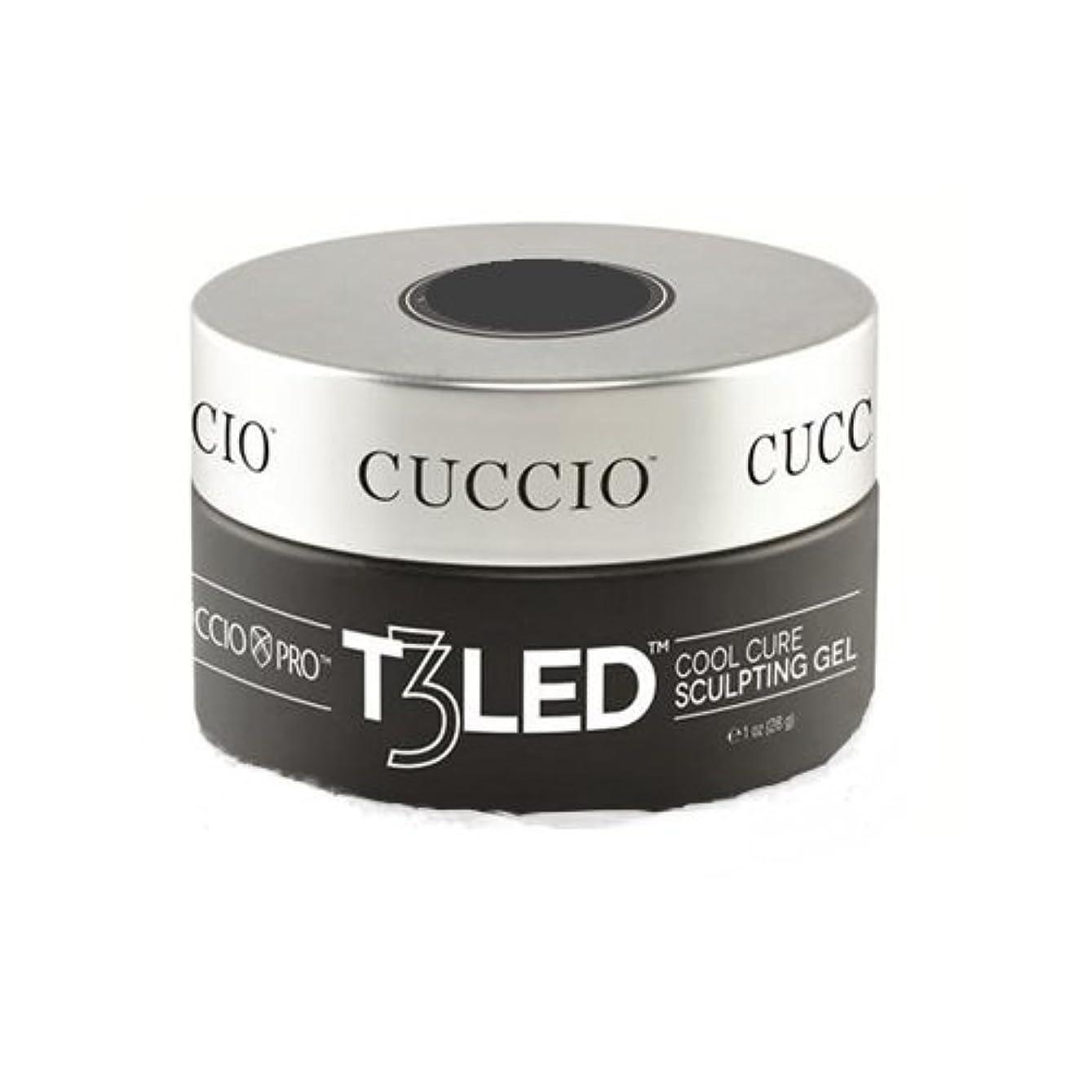 ハイライト不当カッターCuccio Pro - T3 LED/UV Self- Leveling Gel - Opaque Petal Pink - 2oz / 56g