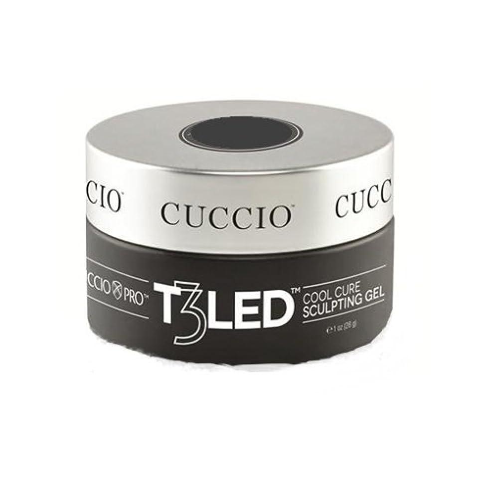 第二にお酢テロリストCuccio Pro - T3 LED/UV Self- Leveling Gel - Pink - 2oz / 56g