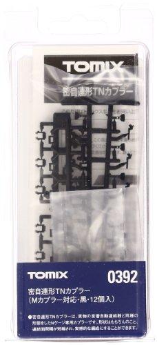 Nゲージ関連用品 密自連TNカプラー (12個・Mカプラー対応・黒) 0392