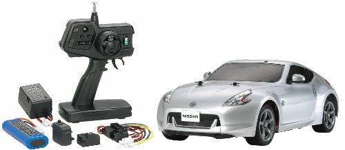 1/10 XBシリーズ No.105 NISSAN フェアレディZ (Z34) (TT-01シャーシ TYPE-E) プロポ付き完成品 57805