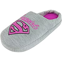 DC Comics Supergirl Glitter Women's Slippers