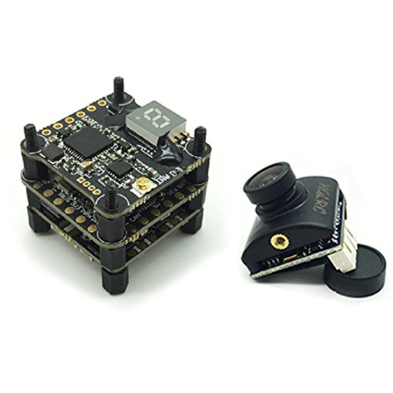 HGLRC xjb f413-tx20.V2 フライトコントロールボード 13A Blheli_S 4 in 1 ESC TX20 VTX FPV トランスミッター + elf スタックカメラ レーシングドローン用