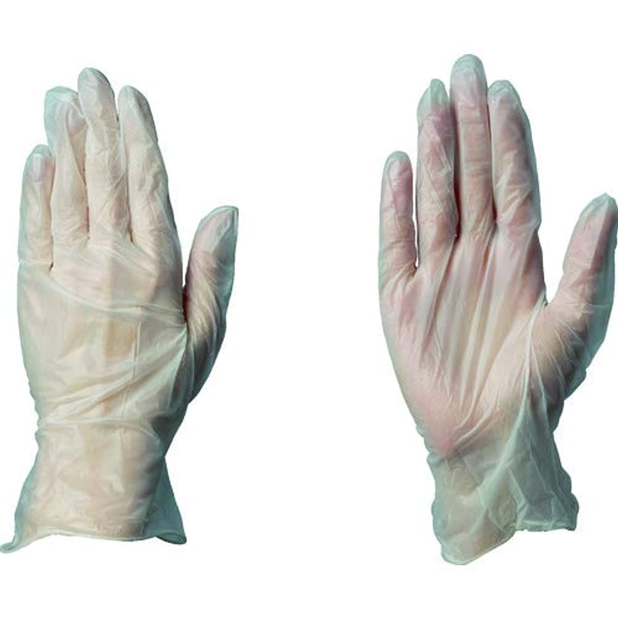鎮静剤ショップファームハクゾウプラスチックグローブMFPF L(80マイ) ハクゾウメディカル