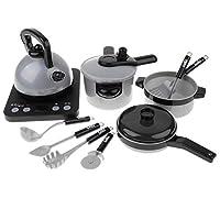 T TOOYFUL ままごと遊び ごっこ遊び クッキングトイ 圧力鍋 炊飯器 調理器具セット おもちゃ