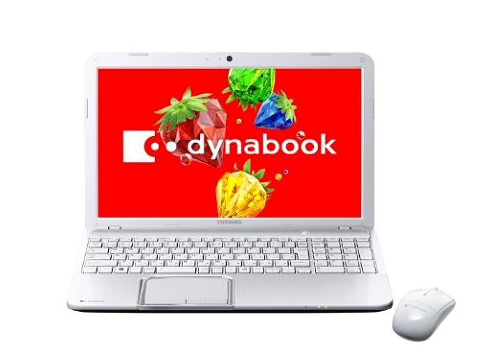 やさしく罪人ストレス東芝 ノートパソコン dynabook T552/58HW(Office Home and Business 2013搭載) PT55258HBMW