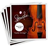 Full Set High Quality Violin Strings Size 4/4 & 3/4 Violin Strings G D A & E