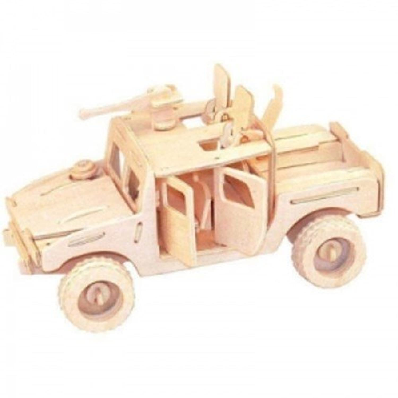 Wood Craft automobile - Battle Jeep