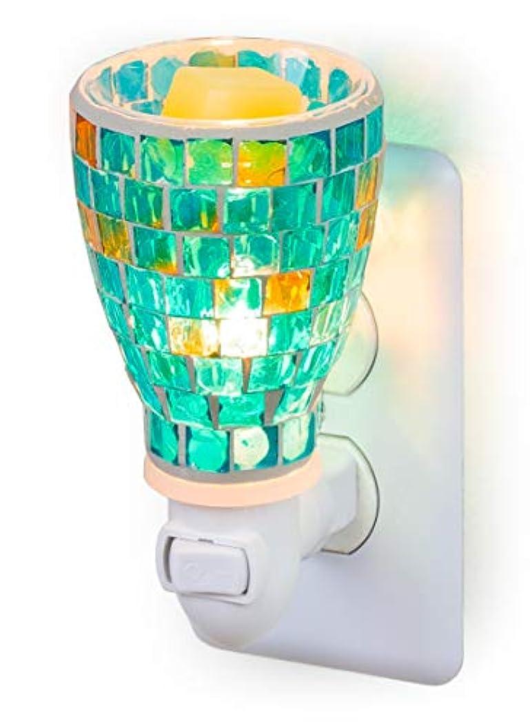 未来繁殖セクションモザイクガラスプラグインフレグランスワックスメルトウォーマー DH-A605