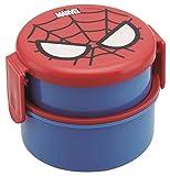 丸型 ランチボックス 2段 スパイダーマン