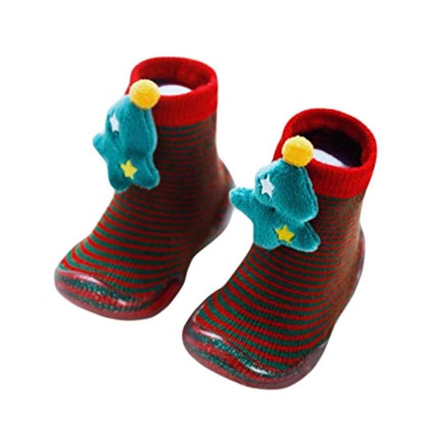 守る地上で休憩する[JK Home] ソックス 靴下 靴 赤ちゃん ベビー 子供 女の子 男の子 クリスマス キッズ ガールズ ボーイズ 秋冬 厚手 オシャレ 防寒 暖かい 滑り止め サンタ コットン シフゾウ プレゼント 柔らかい かわいい