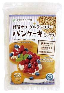 糖質オフ・グルテンフリー パンケーキミックス 200g×12個           JAN:4580364770079