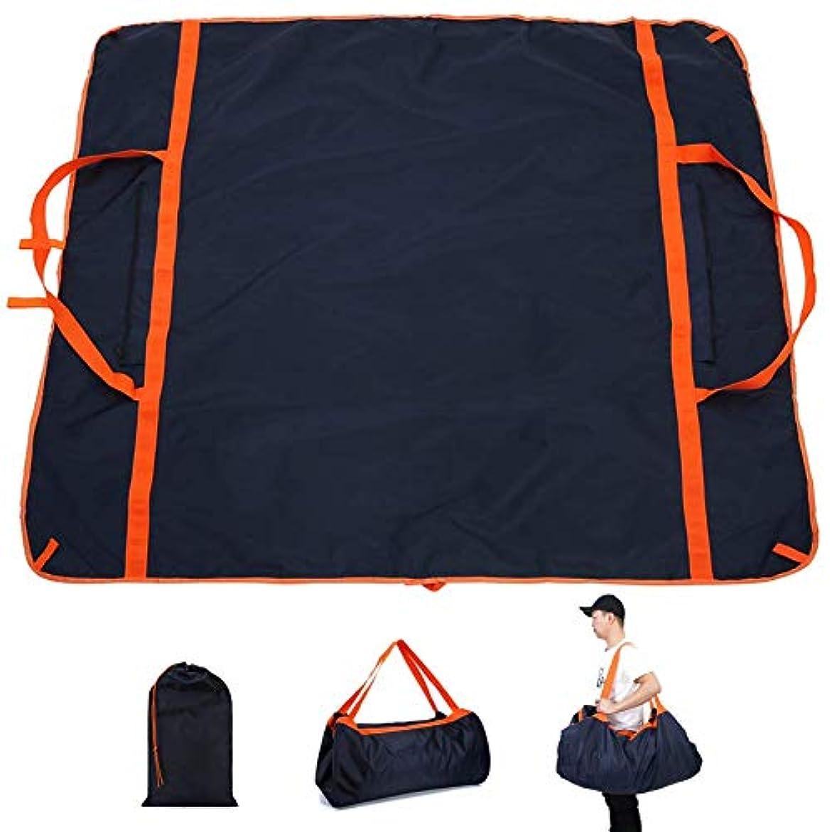 勇者保護する同一の折りたたみ式 ピクニックマット 多機能 持ち運び袋とし