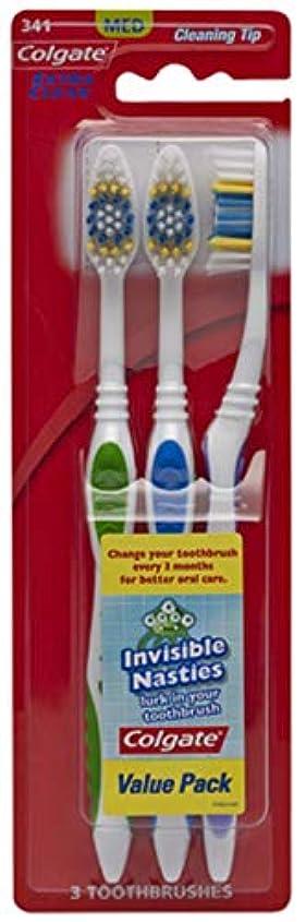 アクティブ修正する政策Colgate エクストラクリーン歯ブラシ - ケースあたり24。