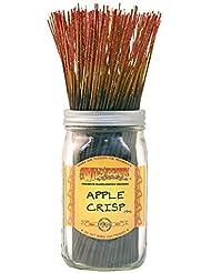 Wild Berry Apple Crisp, Highly Fragranced Incense Sticksバルクパック、100ピース、11インチ