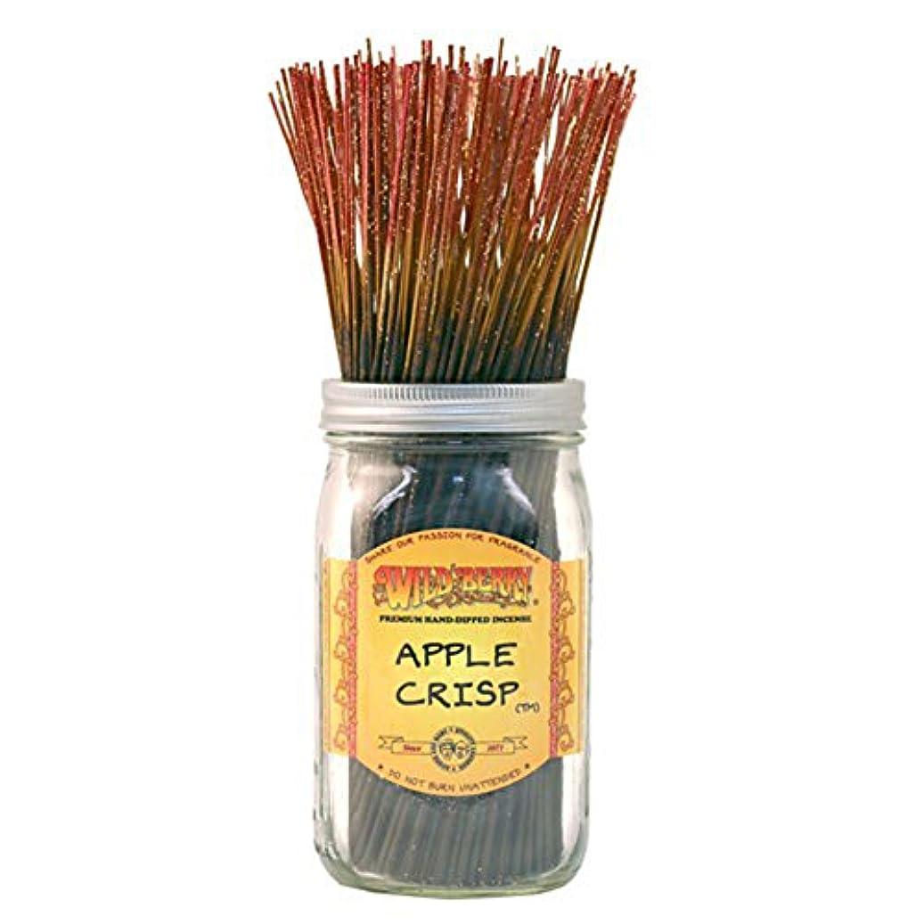 発動機発言する見つけるWild Berry Apple Crisp, Highly Fragranced Incense Sticksバルクパック、100ピース、11インチ