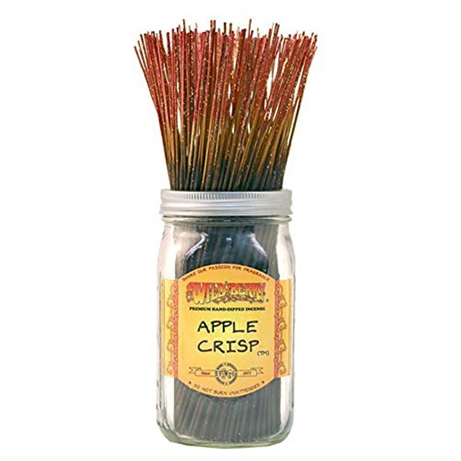 ほかに脈拍エスカレーターWild Berry Apple Crisp, Highly Fragranced Incense Sticksバルクパック、100ピース、11インチ
