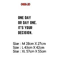 RLYBDL 20のスタイルドリームフレーズ動機の引用ビニールウォールステッカーのためにオフィスルームの装飾壁画キッズベッドルームのインテリアリビングルームハウス (色 : 20, サイズ : M)