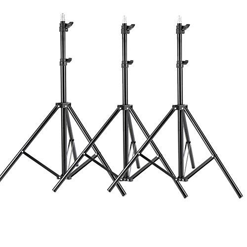 NEEWER 6ft/75 inch/190cm三脚ライトスタジオキット ビデオ、ライト、ソフトボックス、リフレクターに対応 3パーク 【並行輸入品】