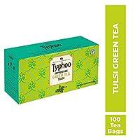 Typhoo Typhoo Green Tea Traditional Tulsi - 100 Heat Sealed enveloped Tea Bags, 300 g