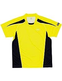 ヤマト卓球 デファンスシャツ 30265 イエロー JS (卓球用品/卓球シャツ/ユニフォーム/ゲームシャツ/TSP)