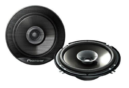 Pioneer TSG1614R 6.5-Inch 230W Car Audio Stereo Coaxial Speaker Front Rear - Set of 2 by Pioneer