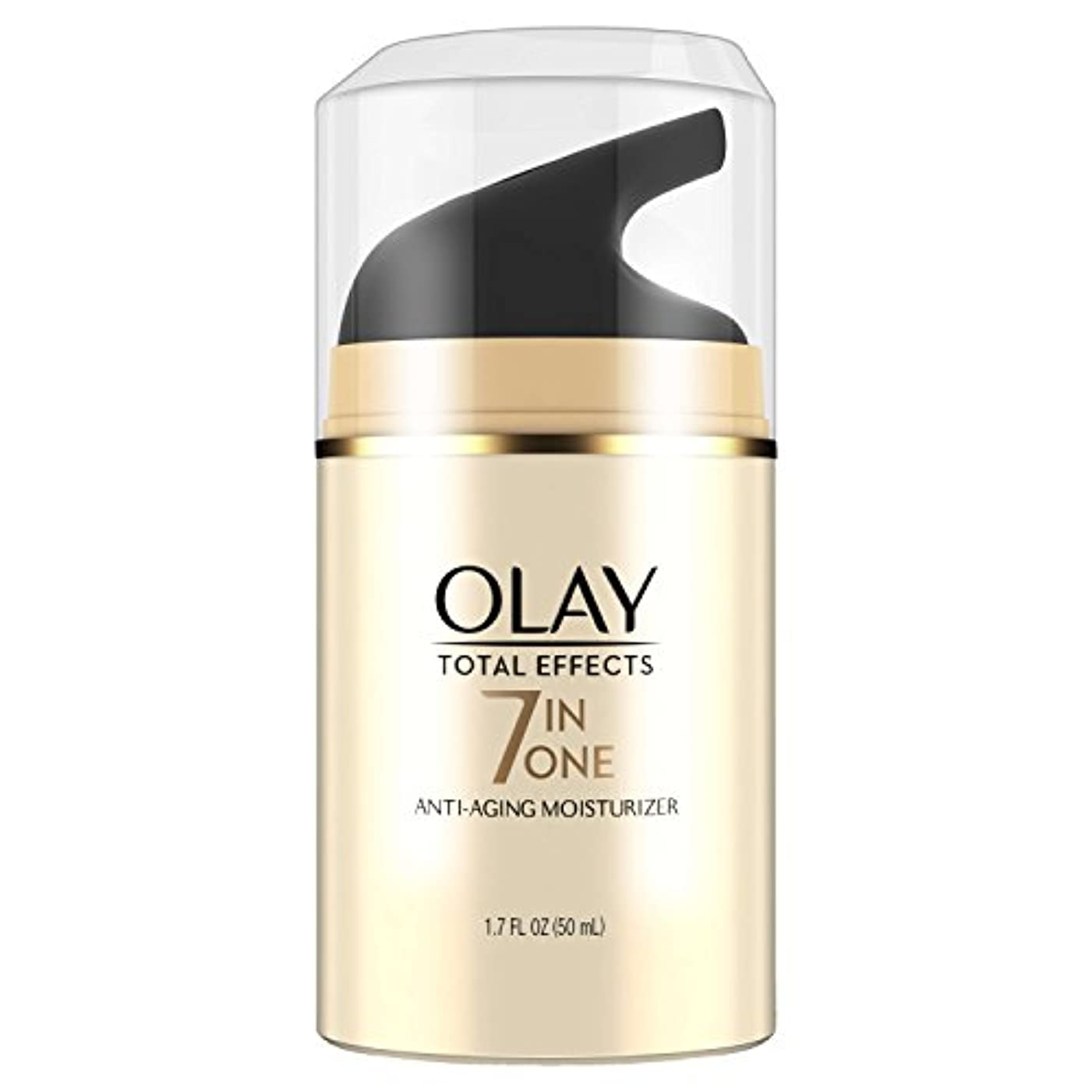 資本咽頭懸念海外直送肘 Olay Total Effects Daily Moisturizer, 1.7 Oz