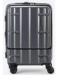 [マルチバース] スーツケース キャリーバッグ フロントオープン MVFP 51 機内持ち込み フロントポケット 容量拡張 Sサイズ 耐衝撃性素材 ファスナータイプ 4輪ダブルキャスター