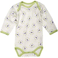 Under The Nile Long Sleeve Babybody (Lilac Print) - 0-3 months by Under the Nile [並行輸入品]