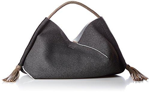 [해외][쿠코] 스웨터 × 훼이 원 숄더백 A4 수납 17531-11017/[Kuco] sweat × fake leather one shoulder bag A 4 storage 17531-11017