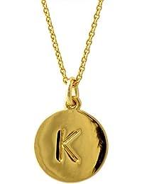 [ケイトスペード] Kate Spade WBRU7653-711 Gold one in a million イニシャル 「K」 ペンダント ネックレス [並行輸入品]