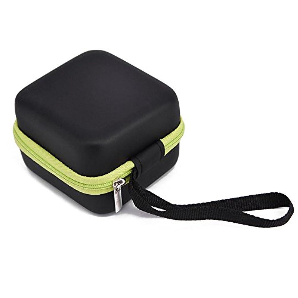 広大なもっと少なく蛇行Farlong 7グリッド 5ML 精油貯蔵袋 エスニックスタイル オイル収納ボックス 人気の 精油 ケース 5色