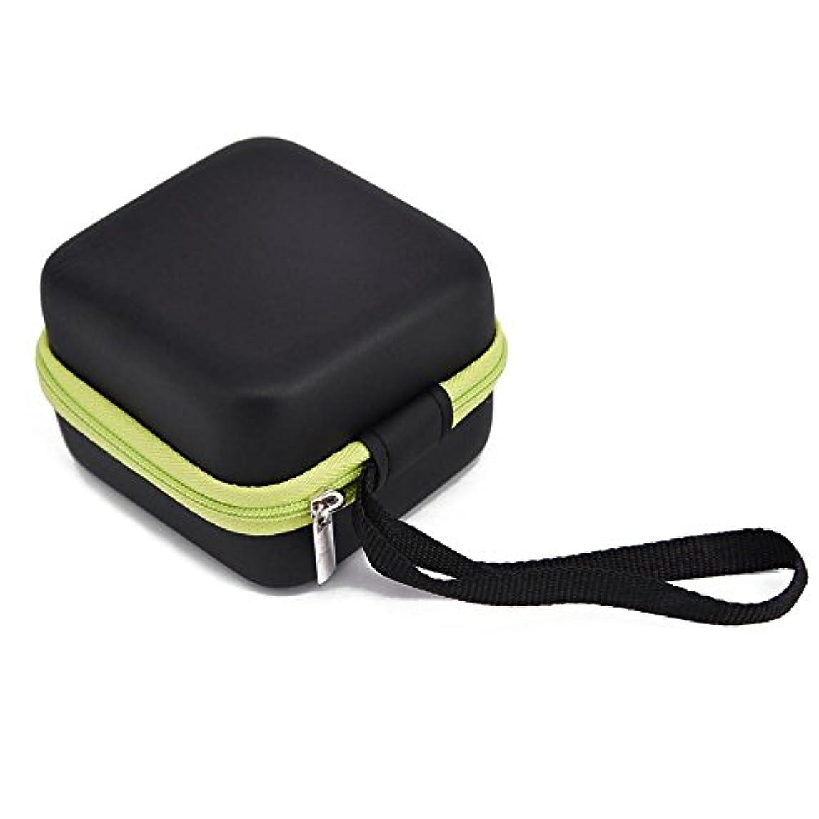 協同モジュール審判Farlong 7グリッド 5ML 精油貯蔵袋 エスニックスタイル オイル収納ボックス 人気の 精油 ケース 5色